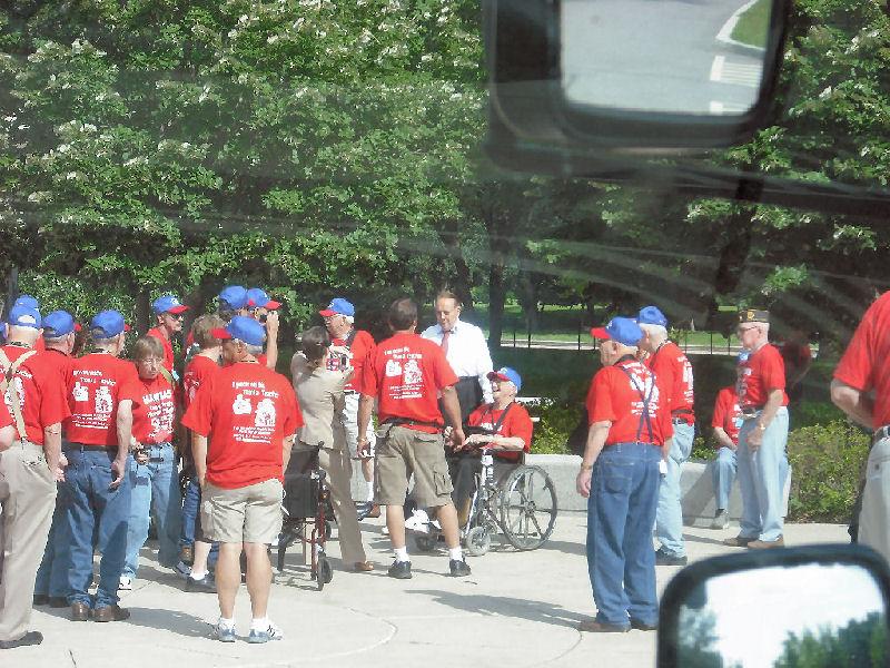 Bob Dole @ WWII Memorial - Washington, DC